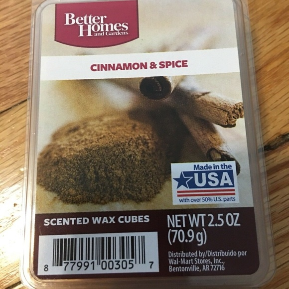 Better Homes and Gardens Other - Better Homes & Gardens Cinnamon & Spice Wax Cubes